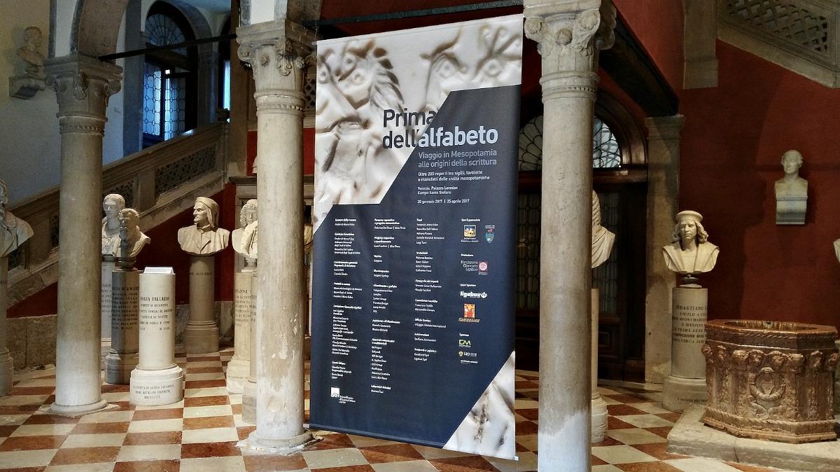 A Venezia Storie di Scritture Prima dell'Alfabeto
