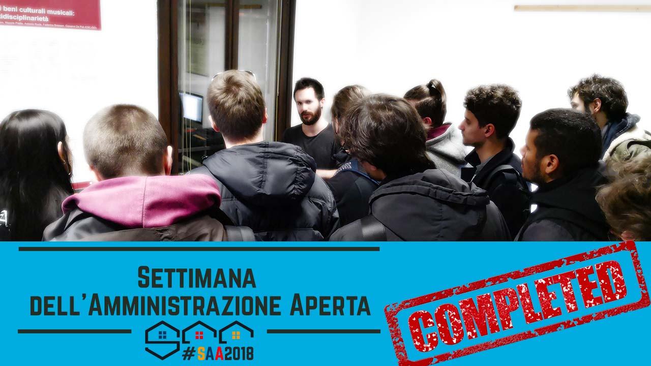 #SAA2018 Padova. Porte aperte anche al CSC – Centro di Sonologia Computazionale di Padova