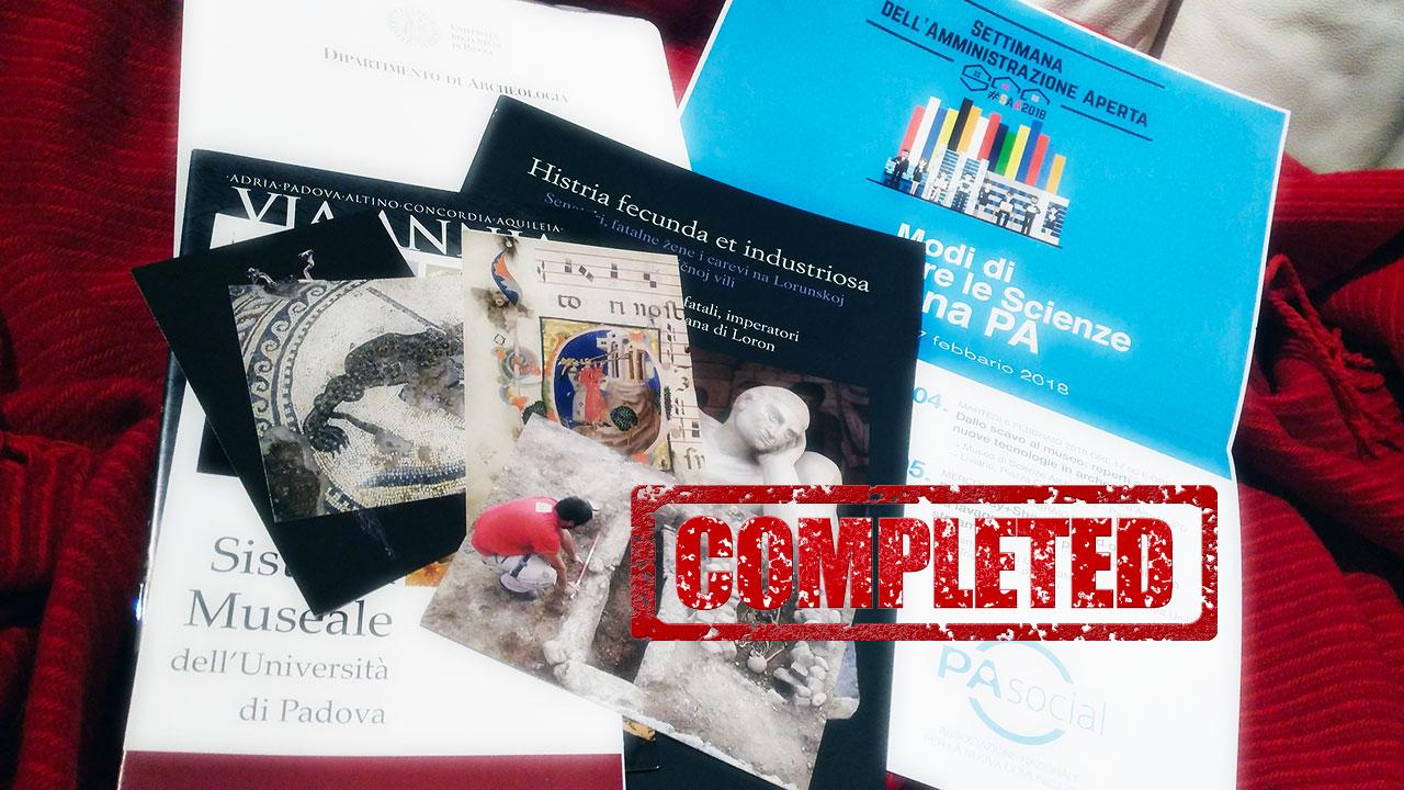 #SAA2018 Padova. La Comunicazione Pubblica delle Scienze secondo gli Archologi del Bo