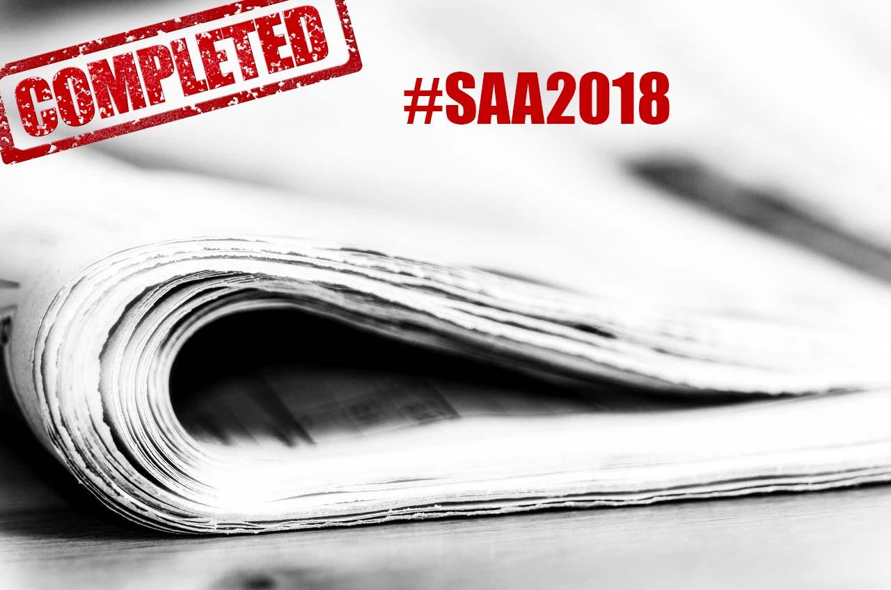 #SAA2018 Padova. Rewind!