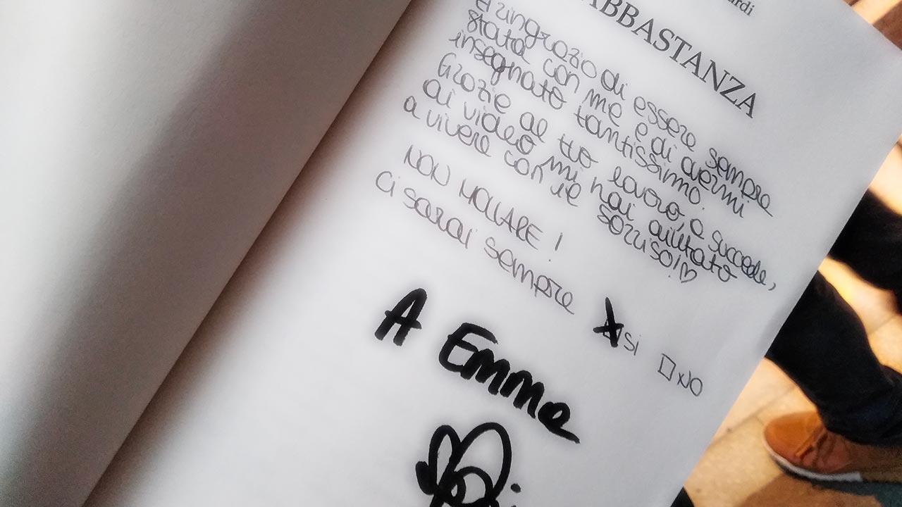 Sofia Viscardi a Padova per il suo ultimo libro