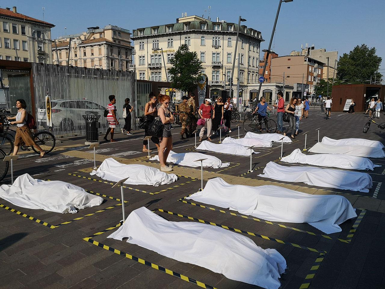 Le anime morte dei migranti alla stazione di Padova